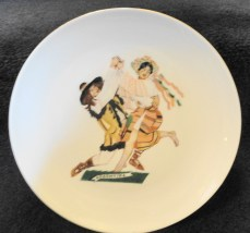 "Vintage Favolina China Polish Dancers ""Kolomyjka"" Plate Made In Poland Mnt Con"