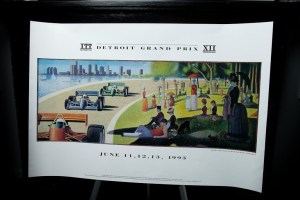 Detroit Grand Prix XII Poster ITT Automotive 1993 Sunday Afternoon Belle Isle