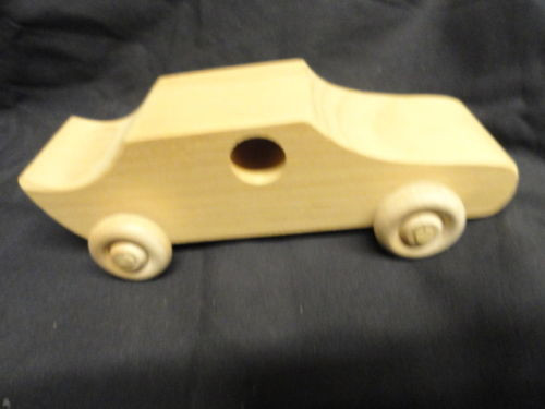 Vintage Handmade Sauder Farm And Craft Village Archbold Ohio Wooden Car Mint Con