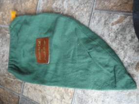 Bootmaker Ltd. by French Shriner Green Soft Bag Drawstring