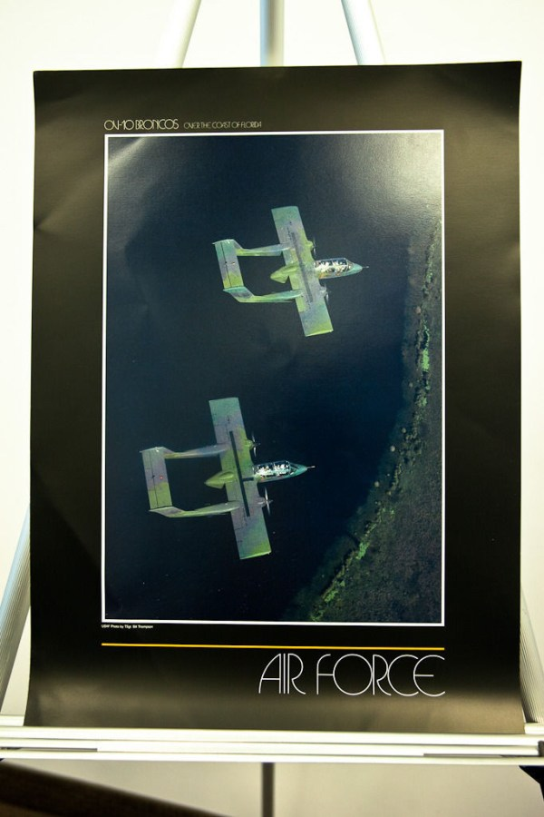 Vtg 1980's AIR FORCE Photographers OV-10 BRONCOS OVER THE COAST OF FLORIDA