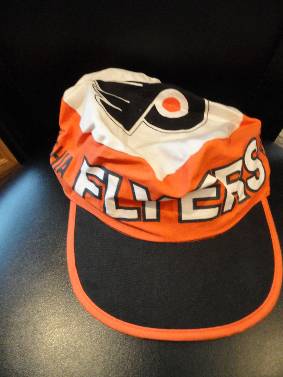 db9fb1a6cf7 Baseball Cap Hat One Size Fits All Adjustable Philadelphia Flyers 100%  Cotton