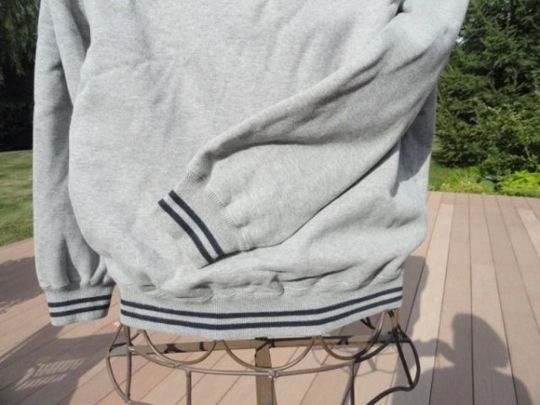 The Greenbrier Gray Zip Up Pullover White Sulphur Springs West Virginia Large