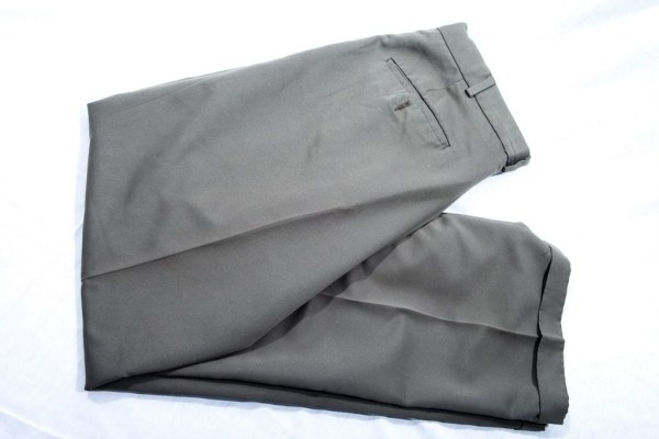 Vintage Slates A Docker's Brand Olive Green 100% Polyester Pants 30/32 Preowned
