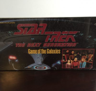Vintage 1993 STARTREK THE NEXT GENERATION Game of The Galaxies Cardinal Inc