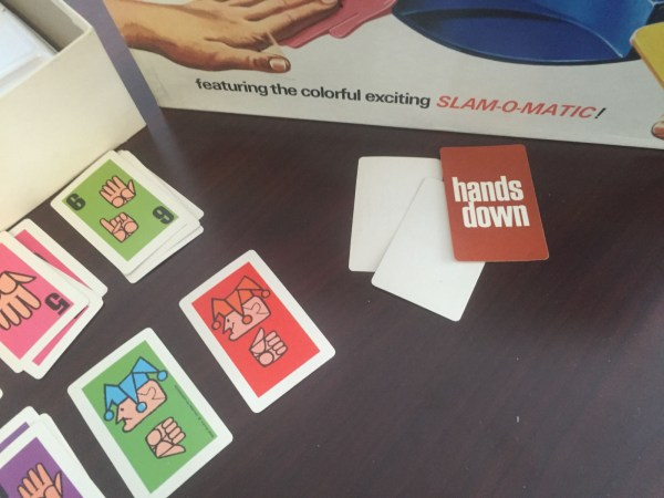 Vintage 1964 Hands Down SLAM-O-MATIC! Complete Game IDEAL Toy Corp Original Box