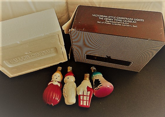 5 Avon Gallery Originals 1984 Victorian Christmas Lights Henry Ford Museum