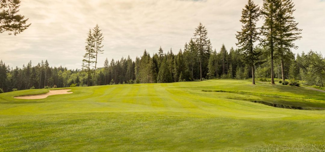 New Homes on Puget Sound Area Golf Course