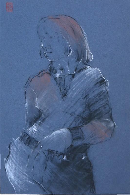 portrait of ilse by friedrich zettl