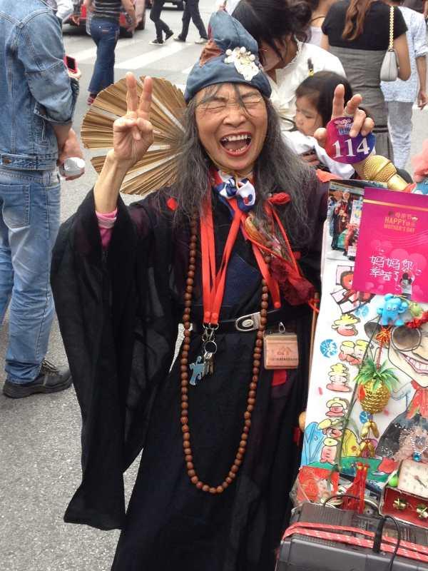 Daoist priest in Shanghai