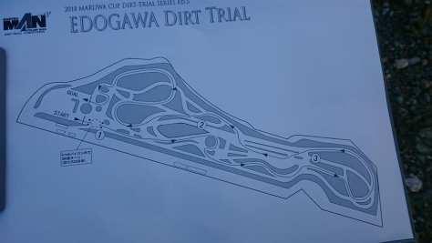 丸和カップ2018第5戦コース図