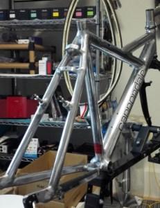 【岡山】自転車工房ZEUS(ゼウス)|KillerV フレーム2