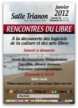 Affiche Rencontres du libre 2012