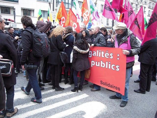 manifestation syndicats fonction publique