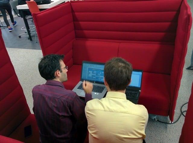 Coworking dans un tiers-lieu