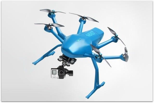 Drone Hexo+, création de l'entreprise llibérée Sogilis