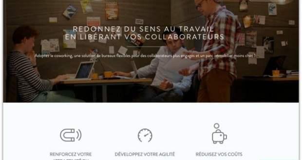 """Page accueil """"entreprises"""" du site Neo-Nomade"""