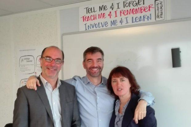 Blanchard - Ruthardt - Movellan responsables du management par la confiance