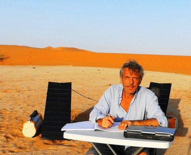 Gauthier Toulemonde travail bureau desert