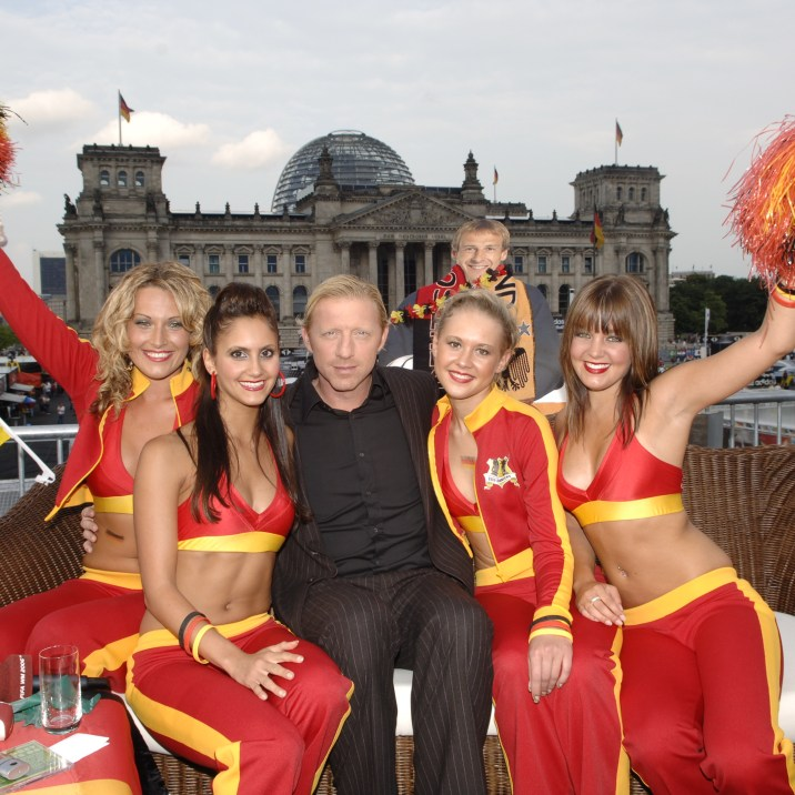 FIFA World Cup Dancers with Boris Becker, sponsored by McDonald's and coached by Detlef Soost.