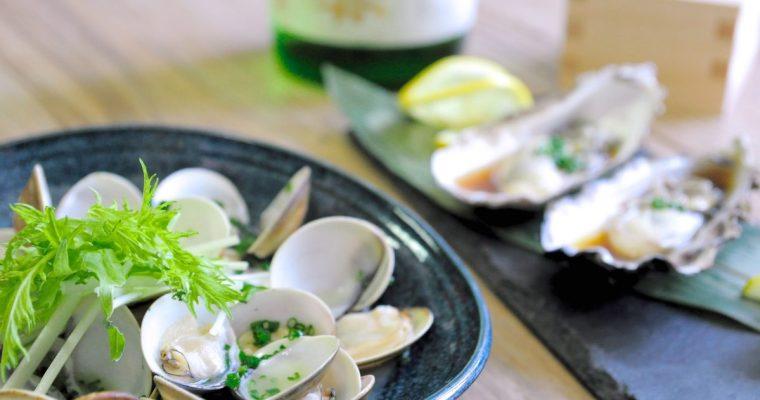〔影片〕酒蒸蛤蜊&溫牡蠣