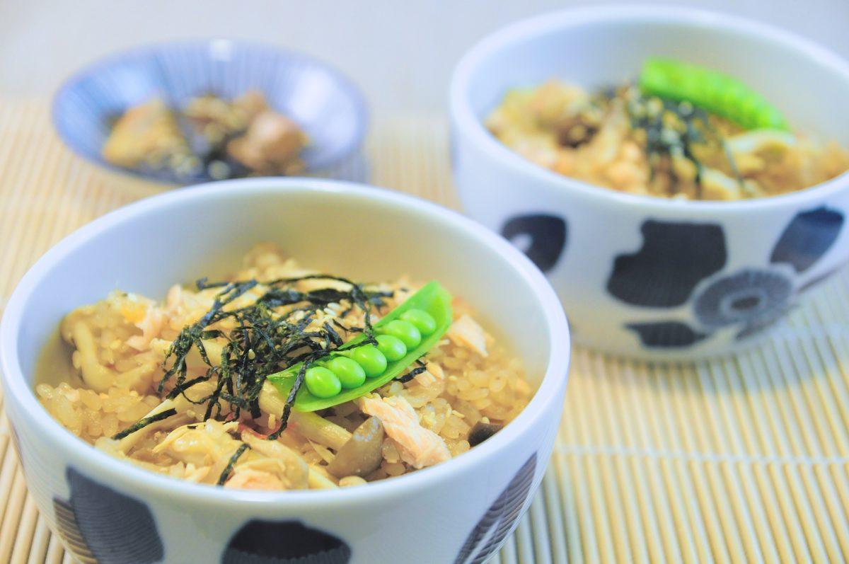 鮭魚雜菇炊飯﹣淺談「買米」及「選米」