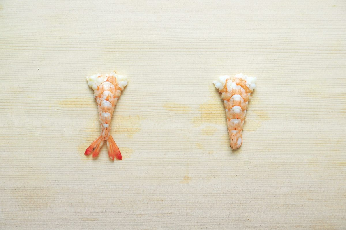 蝦子開背及各種切法