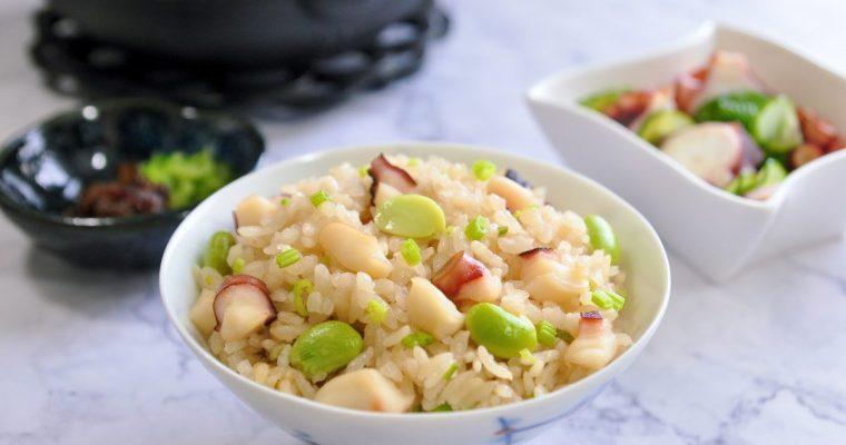 章魚炊飯(蛸飯)