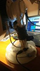 Predugačak VGA kabel, namotan. Uskoro dolazi novi, kraći. Puno kraći.