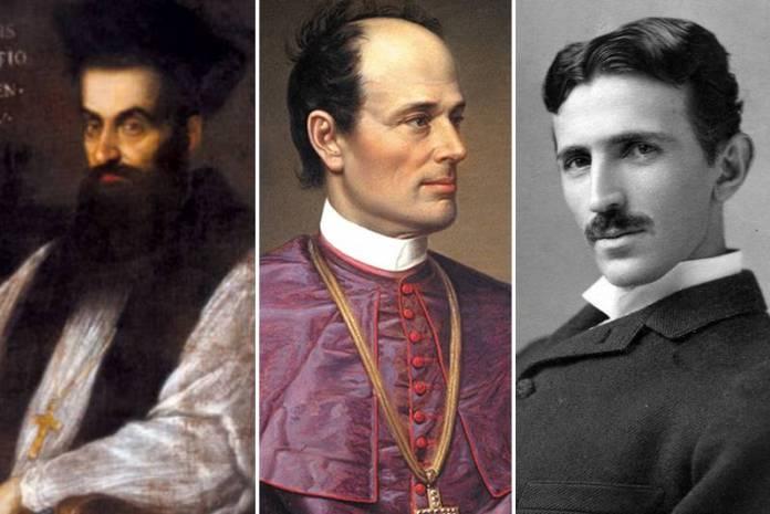 Faust Vrančić, Josip Juraj Strossmayer, Nikola Tesla
