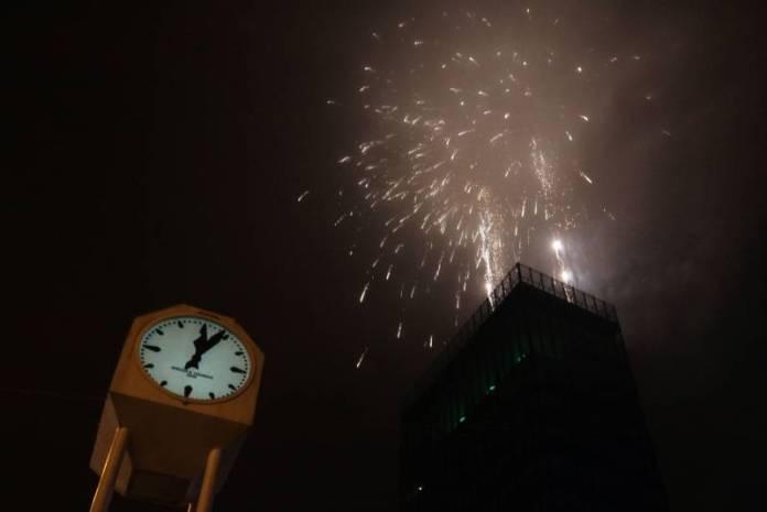 Doček Nove godine na Trgu bana Jelačića