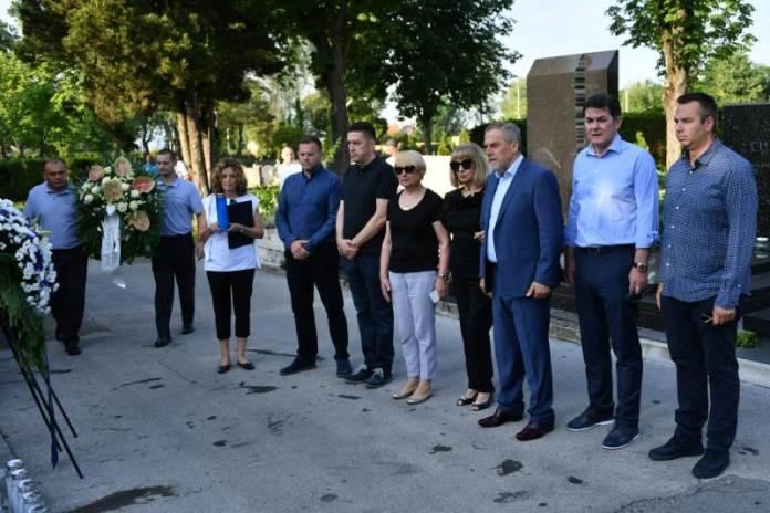 Položen vijenac u povodu 25. godišnjice smrti Dražena Petrovića