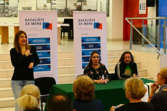 KULTURNI CENTAR DUBRAVA: Predstavljen projekt 'Kazalište za mene', financiran iz fondova EU