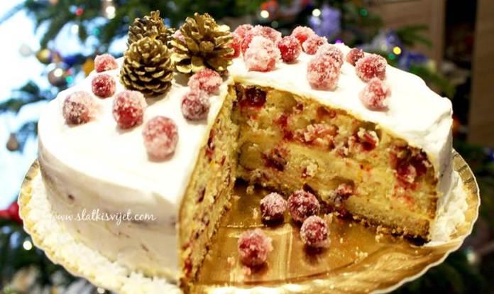 IDEALNA ZA BLAGDANSKI STOL: Torta s narančom i brusnicama