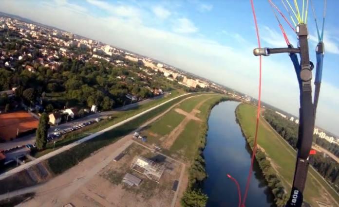LJETO NA SAVI: Svake subote i srijede besplatan paragliding za sve građane