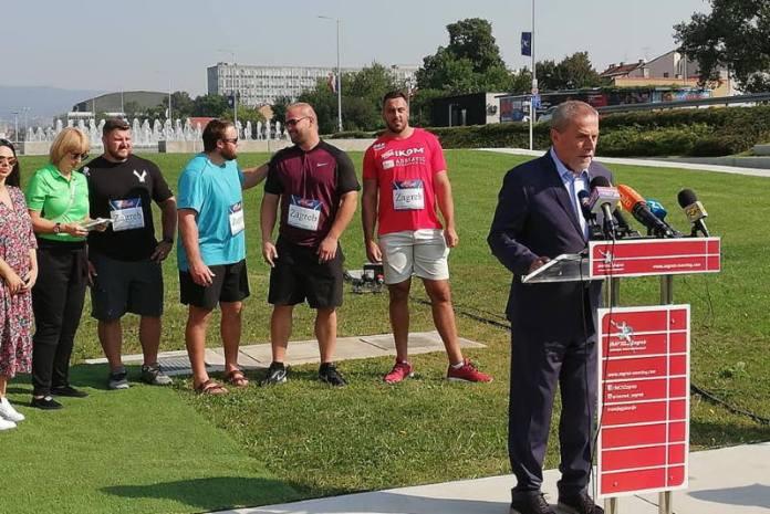 MEMORIJAL IVANA IVANČIĆA: Sve je spremno za pravi sportski spektakl na zagrebačkim fontanama