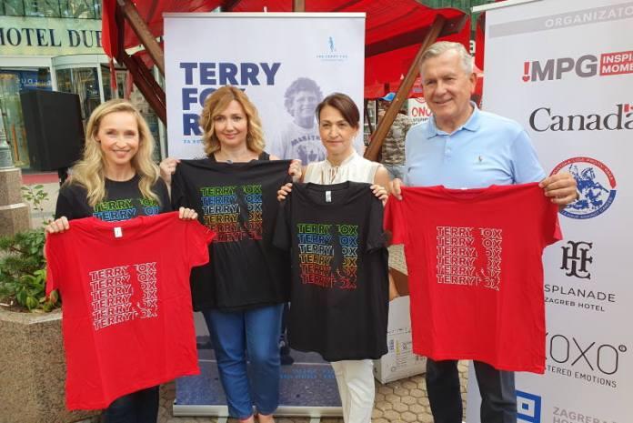 Održana humanitarna prodaja majica uoči 20. utrke Terry Fox Run