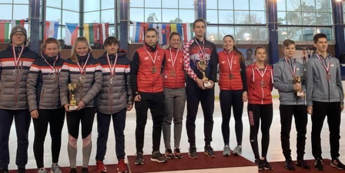 SJAJAN VIKEND: Sedam medalja za hrvatske brzoklizače u Poljskoj!