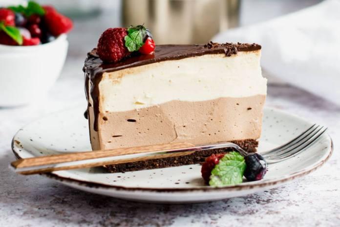 PARFE TORTA: Fantastična mousse torta od vanilije i čokolade