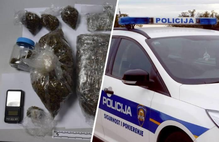 U jednoj kući u Sesvetama policija pronašla marihuanu i hašiš, uhićen 22-godišnjak