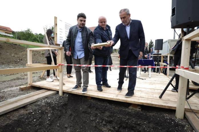 KAMEN TEMELJAC: U Markuševcu svečano obilježen početak gradnje doma za starije osobe