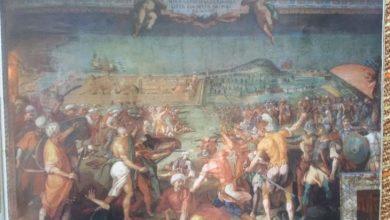 Photo of Preveza e Çamërisë në muralen e Pallatit Pitti në Firenze
