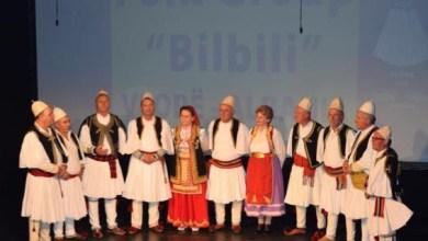 """Photo of FOTO/ Dita e Këshillit të Pakicës Kombëtare Shqiptare, grupi """"Bilbili"""" koncert në Zagreb"""
