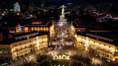 Photo of FOTOT: Pamjet spektakolare me dron të Tiranës, nga lart