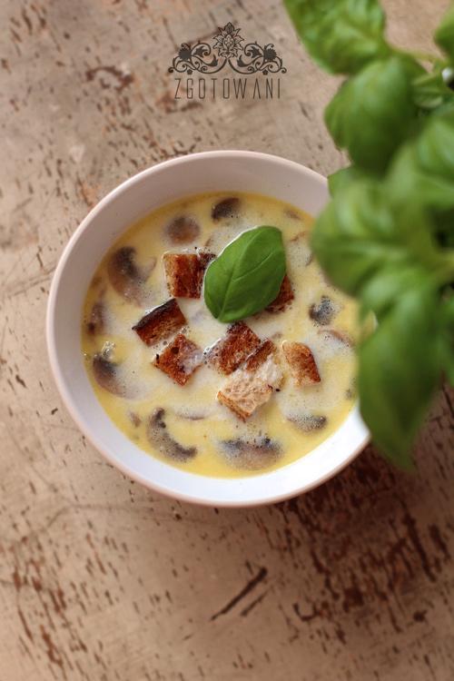 zupa-czosnkowa-z-pieczarkami-i-grzankami-3