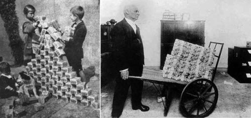Living Under The Spectre Of Hyperinflation: 1923 Weimar And Today