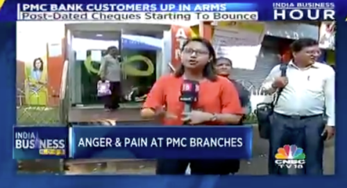 "Bank Crisis Hits India: ""Bank Stops Functioning, People Crying Outside Bank Branches"""