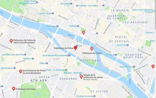 1 Dead, Multiple Injured After Knife-Wielding Attacker Storms Paris Police HQ