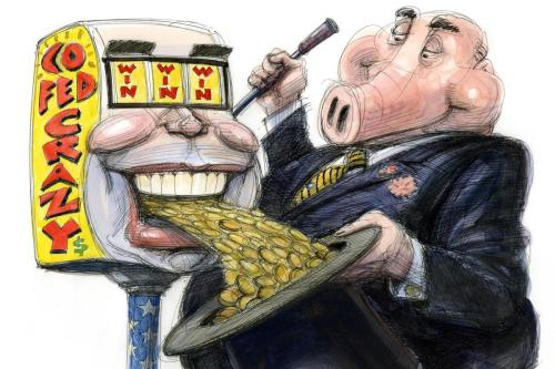 Taibbi: How The COVID-19 Bailout Gave Wall Street A No-Lose Casino
