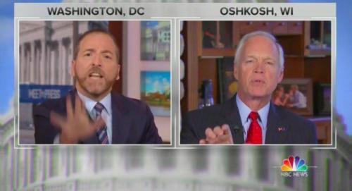 """Conspiracy Propaganda Stuff!"" Chuck Todd Shouts Down GOP Senator In Fiery Trump-Ukraine Exchange"